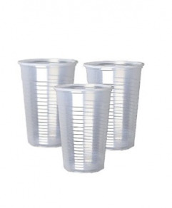 Clear Plastic Cups x50 (33 cl)