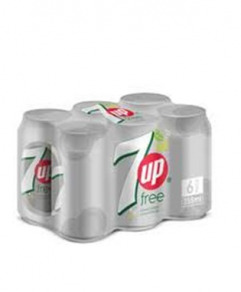 7 Up Diet Can (33 cl) Six-pack